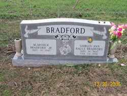 Shirley Ann <i>Rauls</i> Bradford