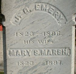 Mary S <i>Marsh</i> Emery