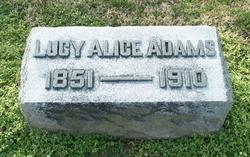 Lucy Alice Adams