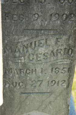 Manuel F. Cesario