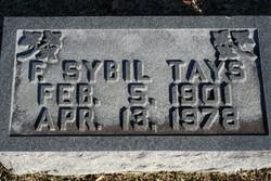Fannie Sybil Tays