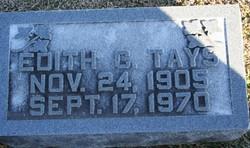 Edith Cromwell Tays