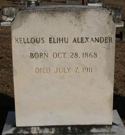 Kellous Elihu Alexander