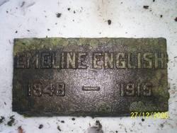 Emiline Lorinda <i>Reed</i> English