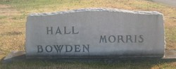 Carol <i>Morris</i> Bowden