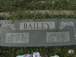 Mary Ida Bailey