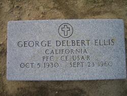 PFC George Delbert Ellis