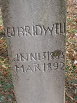 E. J. Bridwell