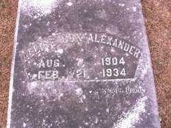 Allise <i>Cox</i> Alexander