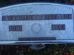 Sarah Leona <i>Jestice</i> Albritton