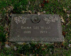 Emma <i>Foley</i> Wills