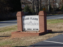 Cross Plains Baptist Church Cemetery