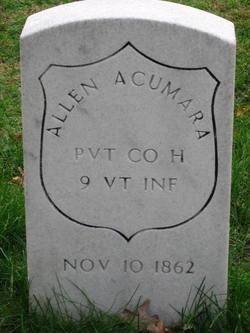 Pvt Allen Acumara