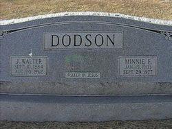 Minnie Frieda <i>Marburger</i> Dodson