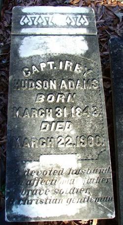 Capt Irby Hudson Adams