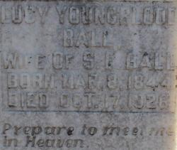 Lucy <i>Youngblood</i> Ball
