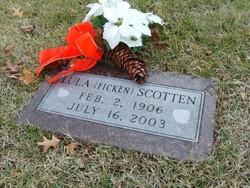 Lula Bertha Katherine Lou <i>Ficken</i> Scotten