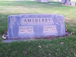 Amanda Jane Jennie <i>Myers</i> Amsberry