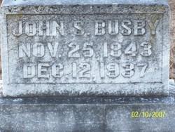 Corp John (J.S) Busby