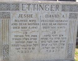 David A. Ettinger