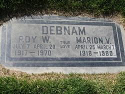 Marion Virginia Ginnie <i>Coltrin</i> Debnam