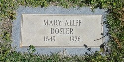 Mary Aliff <i>Jackson</i> Doster