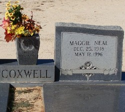 Maggie <i>Neal</i> Coxwell