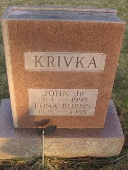 Edna <i>Burns</i> Krivka