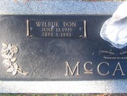 Wilbur Don McCarty