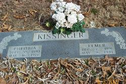 Phoebia Lucinda <i>Barnes</i> Kissinger