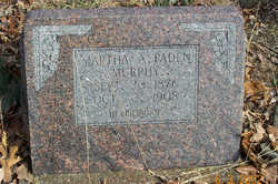 Martha Alice <i>Paden</i> Murphy