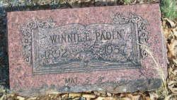 Winnie E. Paden