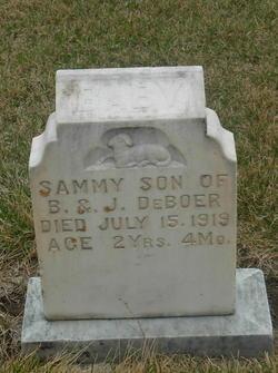 Samuel Sammy DeBoer