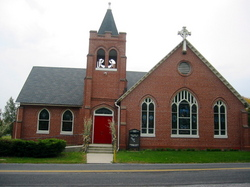 Saint Peters Upper Frankford (Brick) Church Cemete