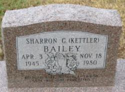 Sharron G. <i>Kettler</i> Bailey