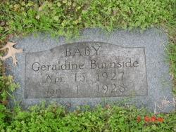 Geraldine 'Baby' Burnside