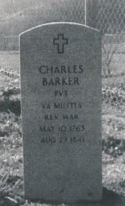 Pvt Charles Barker, Sr