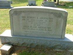Julia <i>Blair</i> Abernethy