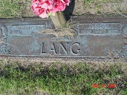 Anna M. Lang