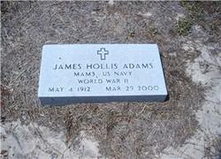 James Hollis Adams