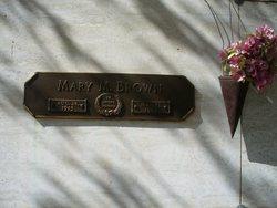 Mary <i>McClard</i> Brown