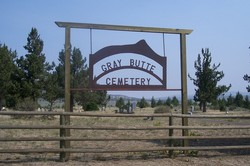 Gray Butte Cemetery