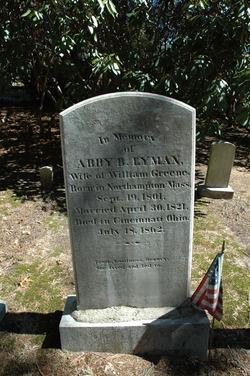 Abby B. <i>Lyman</i> Greene