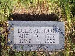 Lulu M. <i>Wood</i> Horn