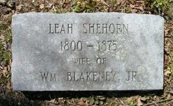 Leah <i>Shehorn</i> Blakeney