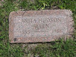 Anita <i>Hudson</i> Allen