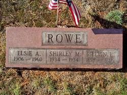 Melvin U. Rowe
