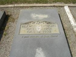 Rev Walter Blewster Knight