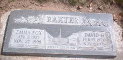 David Hyman Baxter