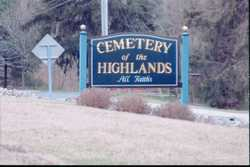 Cemetery of the Highlands